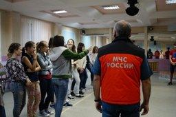 Психологи МЧС России провели занятия с ребятами профильной смены «Юный пожарный» детского оздоровительного лагеря «Энергетик»