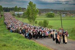 Более ста километров пройдут верующие Хабаровска в многодневном Крестном ходе
