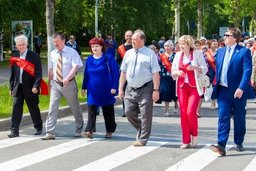 Депутаты краевого парламента Валерий Постельник и Виктор Тагунов приняли участие в праздновании 58-летия со дня основания Амурска