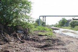 Проблемную дорогу в Южном промузле Хабаровска отремонтируют в ближайшее время