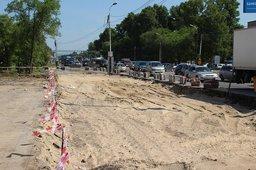 В Хабаровске после почти годичного перерыва возобновился процесс реконструкции проезжей части улицы Краснореченской