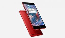 OnePlus 3 в красном