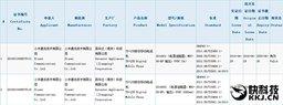 При получении лицензии засветились две новые модели смартфонов Xiaomi