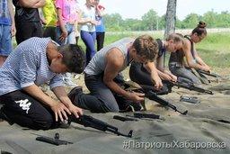 В Хабаровске завершились 5-дневные учебные сборы с курсантами военно-патриотических клубов и объединений города