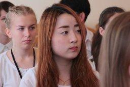 Начальник управления по делам молодежи и социальным вопросам Евгений Демин встретился с членами делегации из города Пусана (Республика Корея)