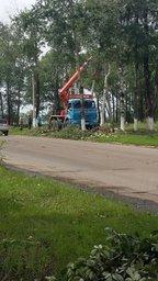 В Верхнебуреинском районе проводятся работы по восстановлению энергоснабжения в жилых домах
