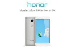 Honor 5X обновился до Android 6.0 и EMUI 4.0