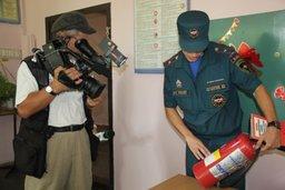 Инспекторы отдела надзорной деятельности и профилактической работы Железнодорожного округа Хабаровска провели плановую проверку средней школы № 47
