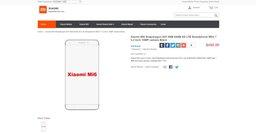 В интернете появилась информация о Xiaomi Mi6