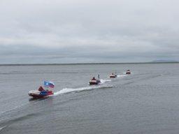Участники экспедиции «Полюс холода соединяет океаны» преодолели более 200 км