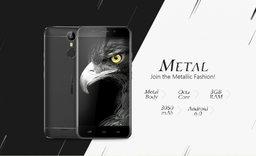 Ulefone Metal – красивый бюджетник из металла и безрамочным экраном