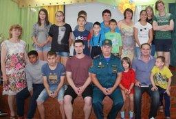 Инспекторы Госпожнадзора рассказали воспитанникам детского дома № 6 города Хабаровска о правилах безопасного поведения