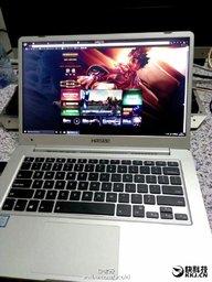 Фото ноутбука Xiaomi – фейк