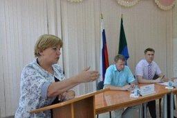 Депутаты регионального парламента выступили с отчетом о своей деятельности перед жителями Железнодорожного района г. Хабаровска