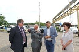 Депутаты краевого парламента вновь посетили Переяславский молочный завод