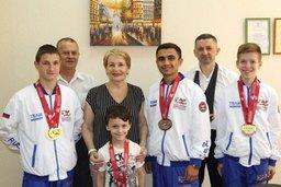 Хабаровские спортсмены завоевали золото на первенстве мира по тхэквондо ГТФ
