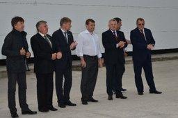 В Николаевском районе заработал рыбоперерабатывающий комплекс