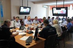 В Хабаровском крае прошла командно-штабная тренировка по паводкам