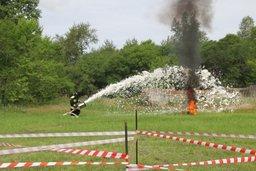 В день 120-летия со Дня образования железной дороги России в Комсомольске-на-Амуре состоялся праздник «На всякий пожарный случай»