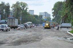 Мэр Хабаровска Александр Соколов проверил, как идут работы по реконструкции объектов дорожной инфраструктуры города